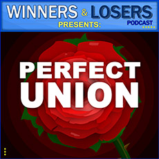 Perfect Union box logo on Winners and Losers